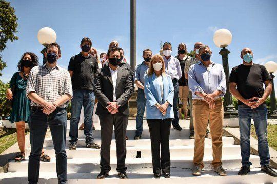 El Frente de Todos prepara la Séptima sección de cara a las legislativas. Foto: @cesarvalicenti