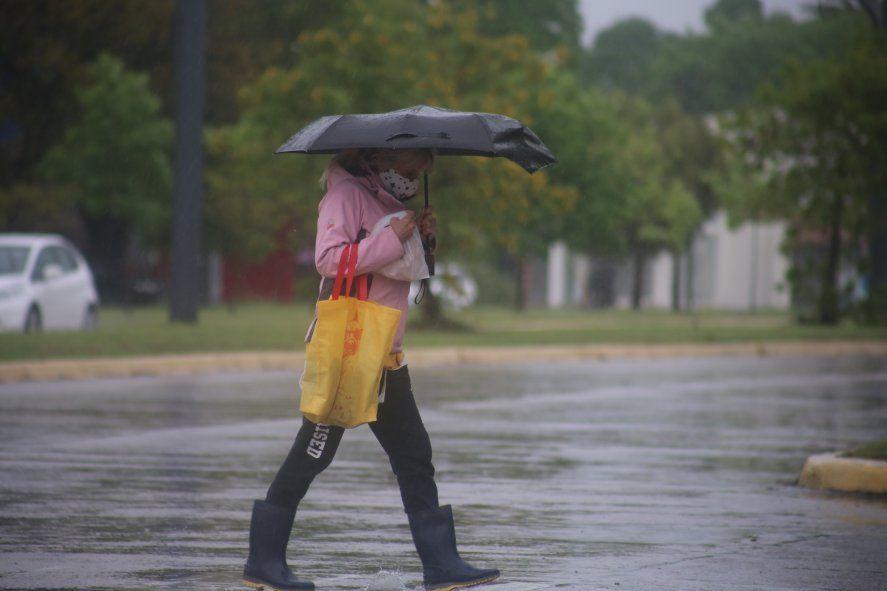Las lluvias se adelantaron en la región capital de la Provincia.