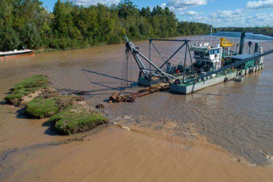 Las obras en la Cuenca del río Luján son claves para los bonaerenses