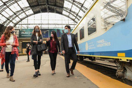violencia de genero: trenes argentinos impulsa acciones de prevencion, asistencia y atencion