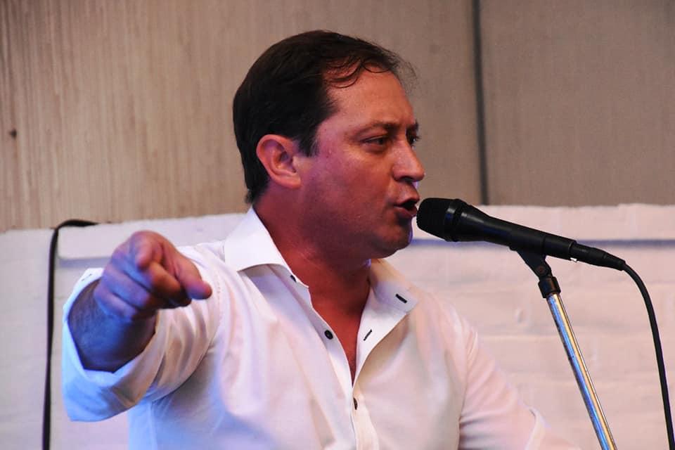 Salvador Serenal, intendente de Lincoln