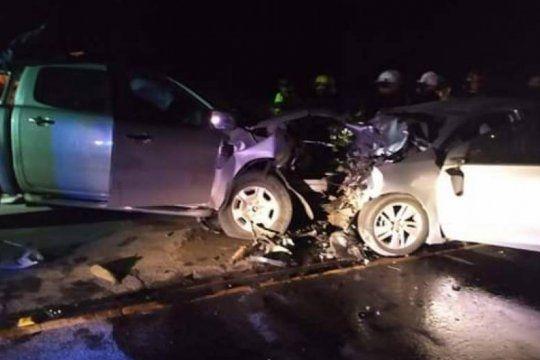 tres muertos en un choque frontal en la ruta 11 entre pinamar y costa esmeralda
