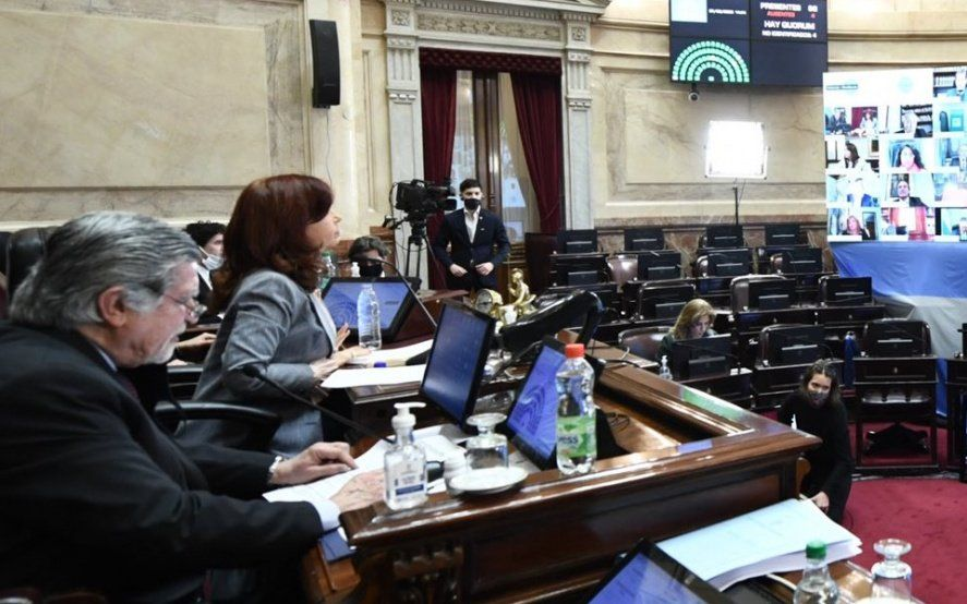 """""""¡Bullrich...! ¡Bullrich!"""": la divertida chicana de Cristina para un senador del PRO"""