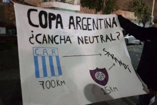 se desato la bronca en la copa argentina: los hinchas del interior reclaman paridad a la hora de los viajes