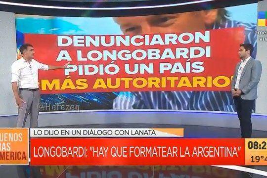 Otros representantes del periodismo corporativo también defendieron a Marcelo Longobardi atacando al sistema democrático.