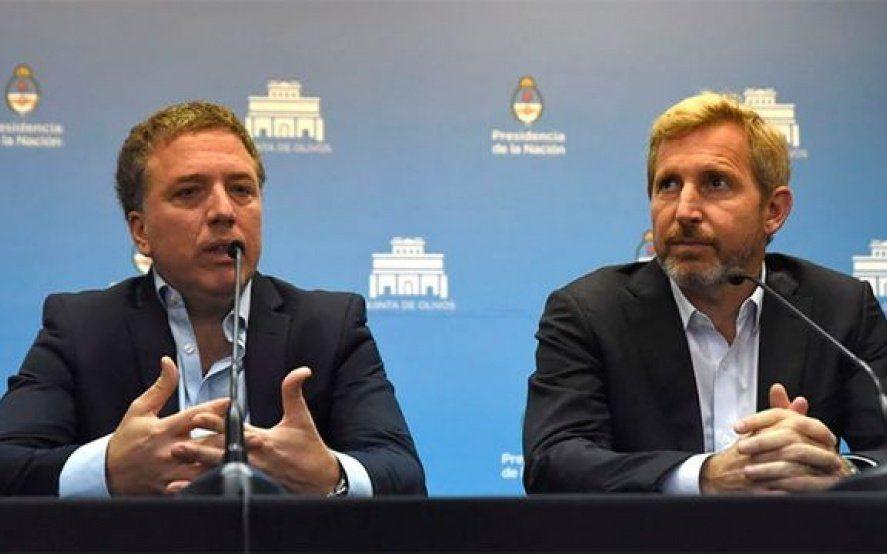"""Dujovne y Frigerio celebraron la el acuerdo con Pichetto y apuntaron a agrandar la """"pata peronista"""" de Cambiemos"""