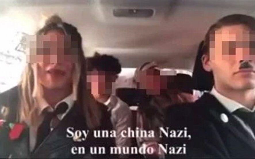 Escándalo en la escuela: hicieron un video parodiando al nazismo y se multiplican los repudios