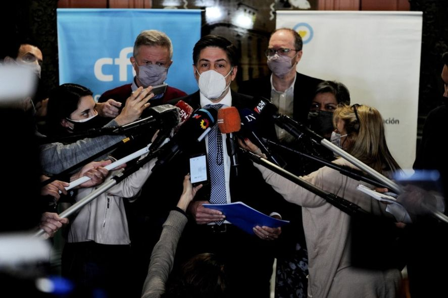 El ministro de Educación Nicolás Trotta dio a conocer el arreglo de la paritaria