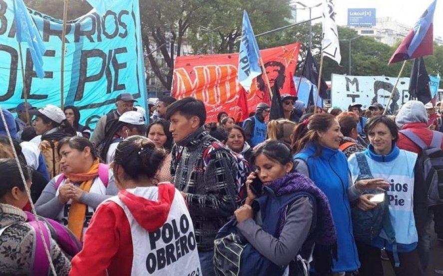 """""""Que Nedela cumpla con su palabra"""": Ante la crisis económica, organizaciones sociales vuelven a salir a la calle"""