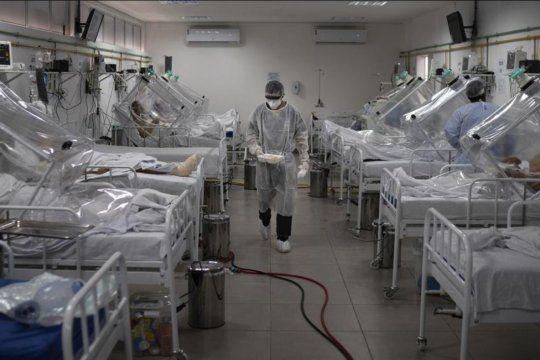 Colapso en las terapias intensivas de Manaos, Brasil, por falta de suficientes respiradores