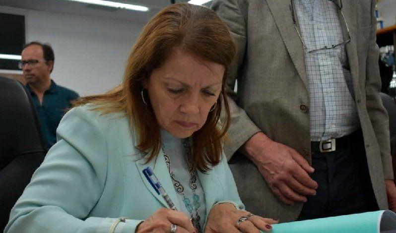Blanca Cantero no participa de la mesa de negpciación de la toma de Guernica