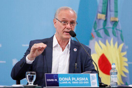 Daniel Gollán brindó una nueva conferencia de prensa donde detalló la situación epidemiológica de la Provincia donde cuestionó a los antivacunas.