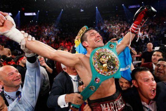 cuando el ego gana por nocaut: maravilla martinez vuelve al ring con 43 anos