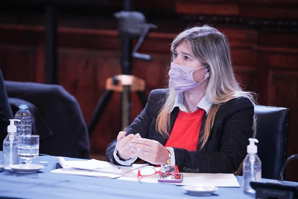 Cristina Álvarez Rodríguez, la nueva ministra de Gobierno de Axel Kicillof ( Foto Facebook)