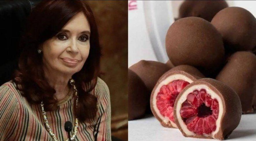 Un micrófono abierto de la Vicepresidenta Cristina Kirchner en la sesión del Senado
