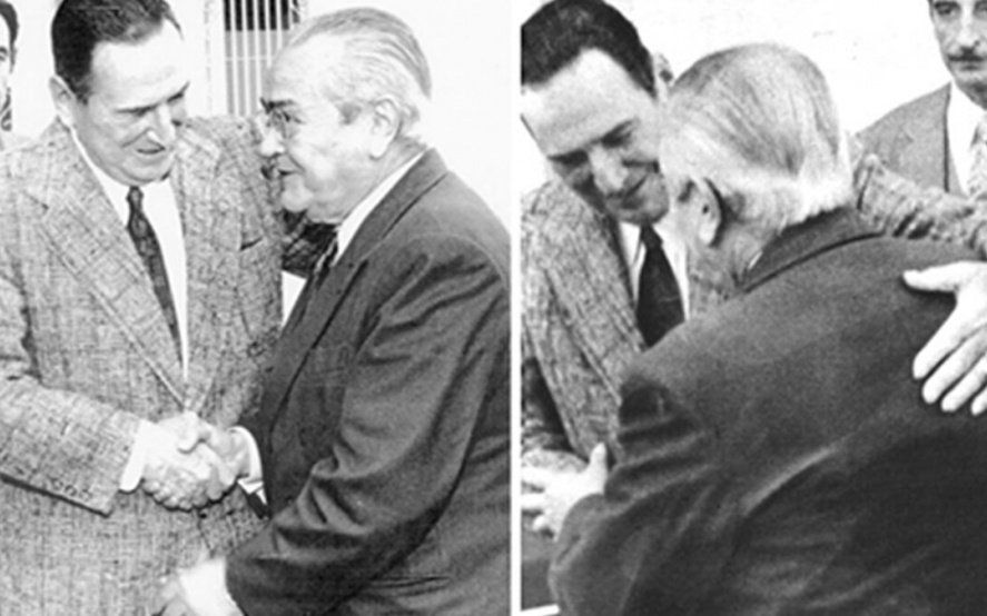A 47 años del abrazo entre Perón y Balbín, el peronismo llama a cerrar la grieta