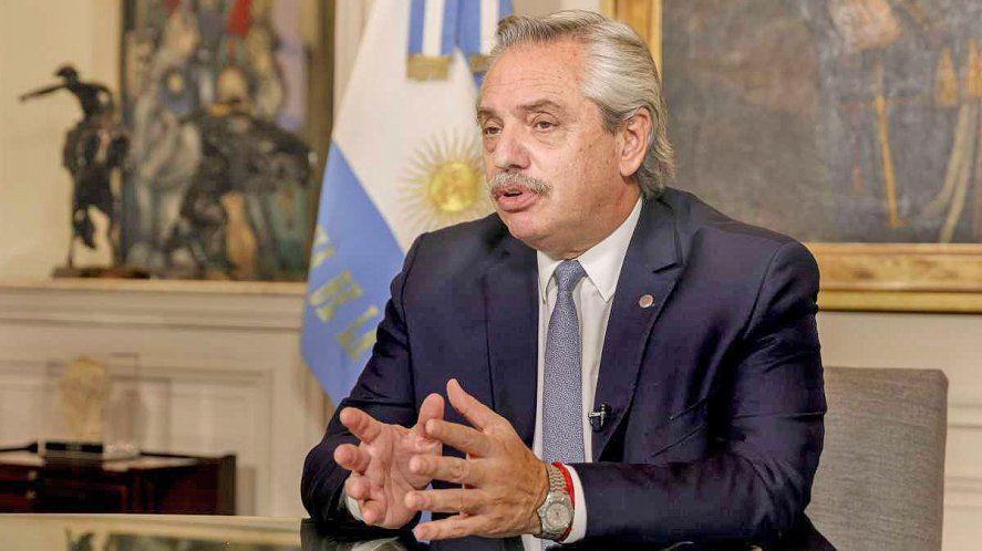 Alberto Fernández encabeza acto por el Día de la afirmación de los derechos argentinos sobre las Malvinas, Islas y Sector Antártico.