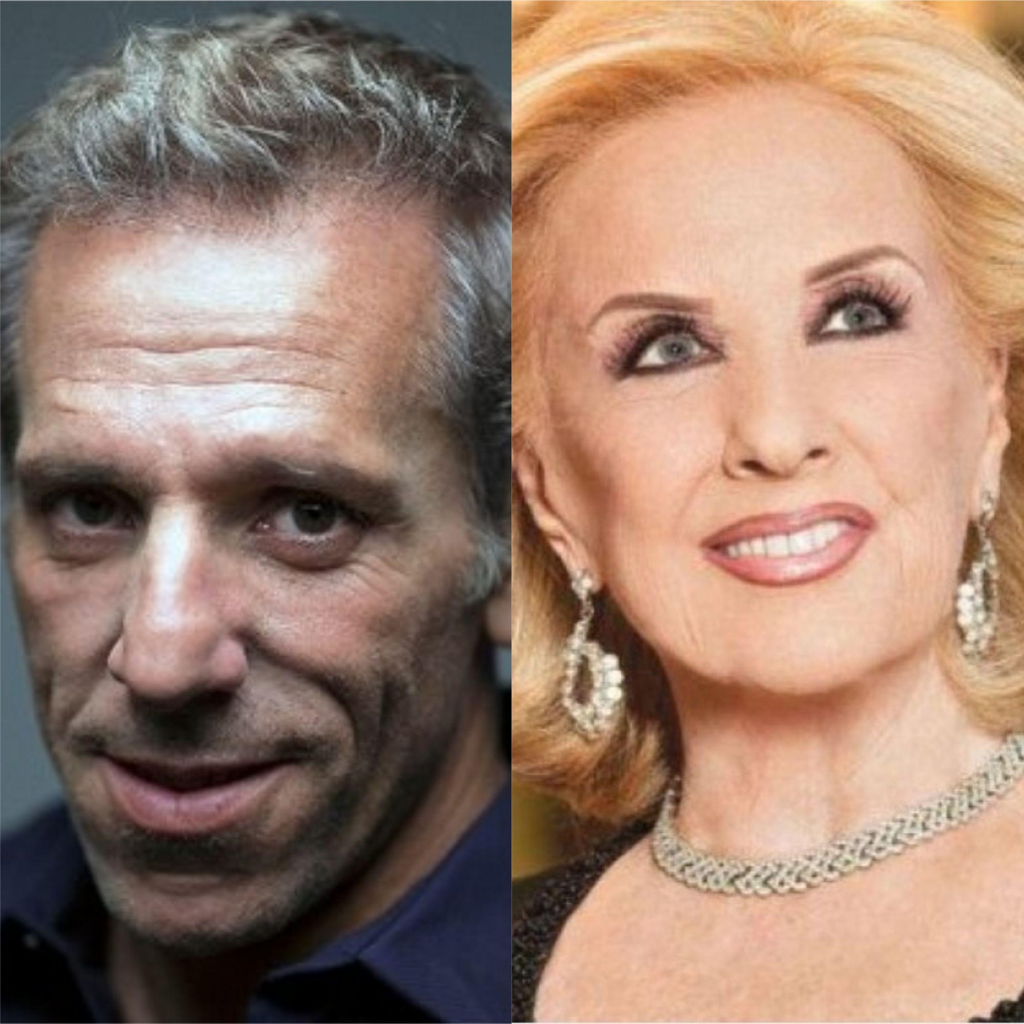 Marcelo Mazzarello hizo un chiste con la salud de Mirtha Legrand