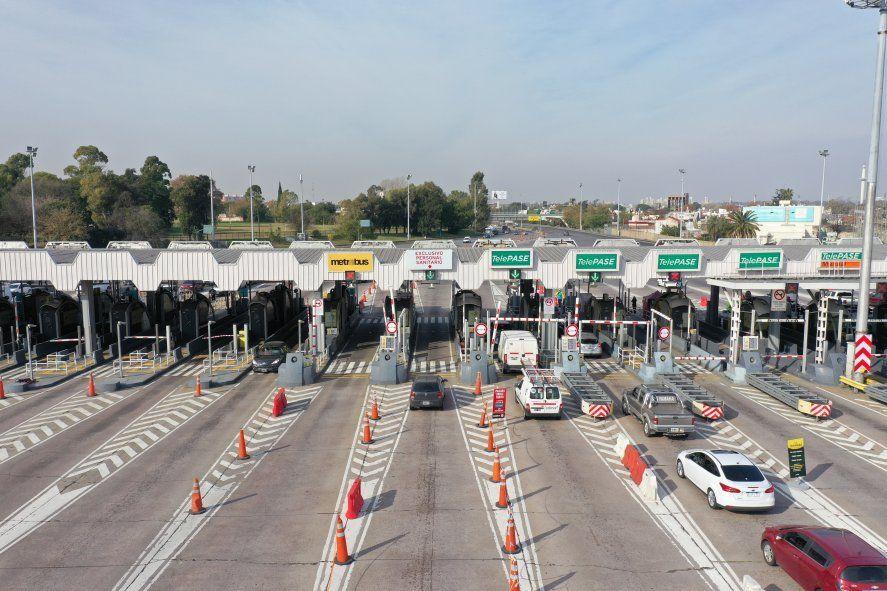 El sistema de Telepase es obligatorio a partir de hoy en las autopistas porteñas