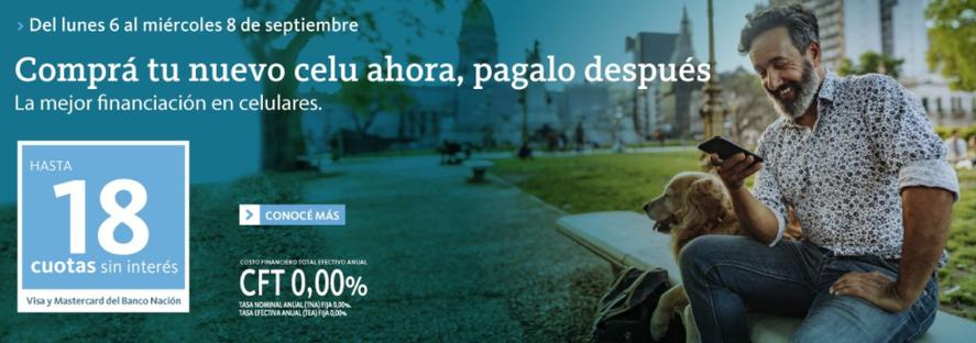 La promoción de Banco Nación está disponible en Tienda BNA