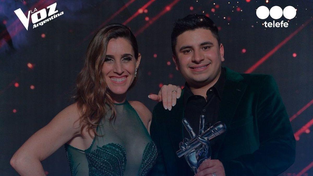 la voz argentina: francisco benitez se consagro como ganador