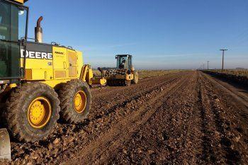 Impulsan obras en caminos rurales (foto archivo)