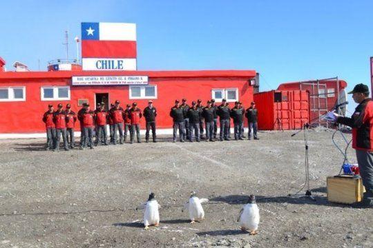 La base chilena de la Antártida en donde hubo 36 contagiados de coronavirus