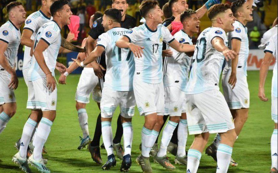 Argentina consiguió su pasaje a los Juegos Olímpicos: mirá todos los goles del campeón invicto