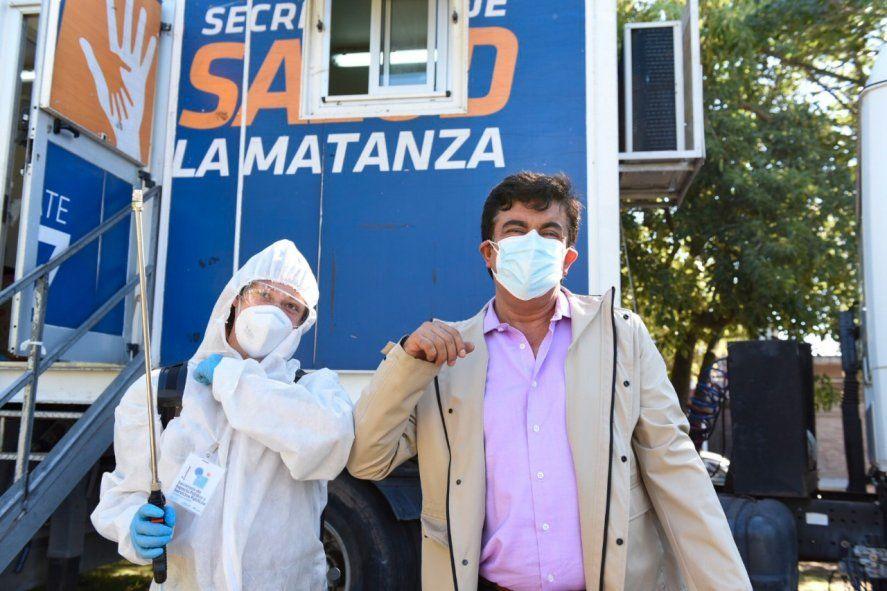 La Matanza: crecen los testeos para prevenir la nueva ola de contagios