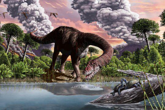 La nueva especie de dinosaurio gigante encontrada en Chubut fue bautizada como Bagualia Alba