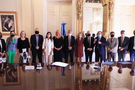 Alberto Fernández recibió al Consejo Consultivo que le brindó un informe con recomendaciones para la reforma judicial.