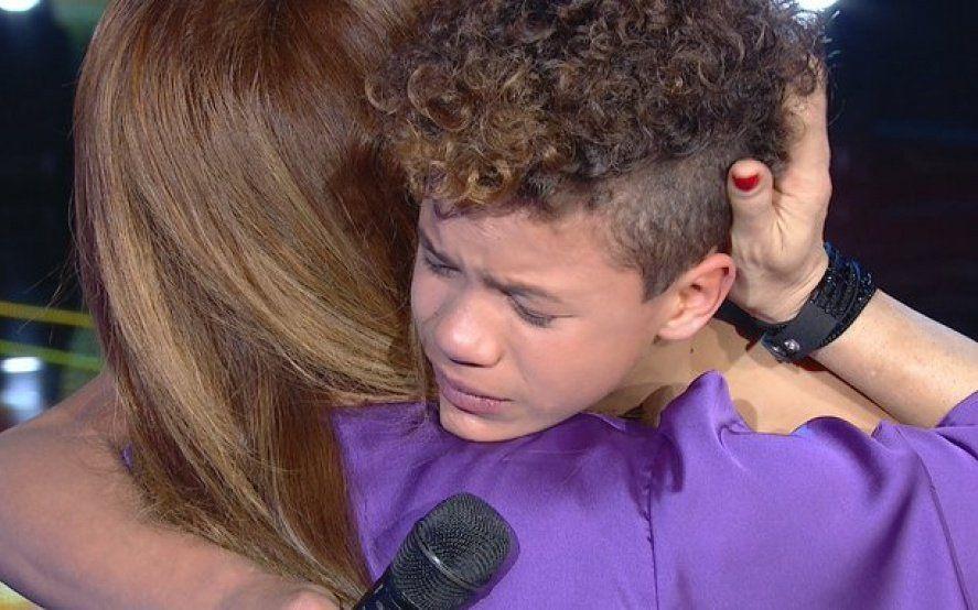 """Bailo contra el bullying"": la historia del nene que emocionó a Lizy Tagliani en el programa de Susana"
