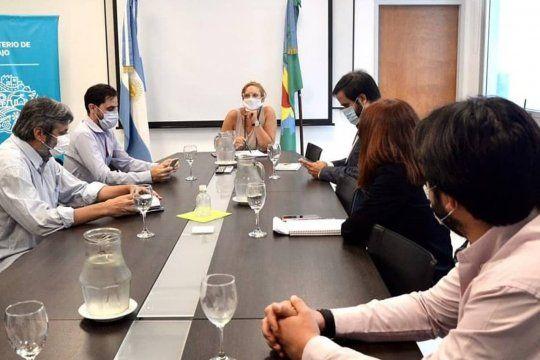 Las autoridades de CICOP se habían reunido con Mara Ruiz Malec antes de ir a paritarias con representantes de Hacienda.