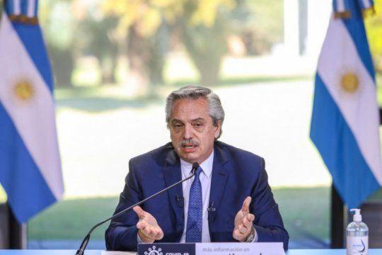 Alberto Fernández lanza un bono para trabajadores comunitarios