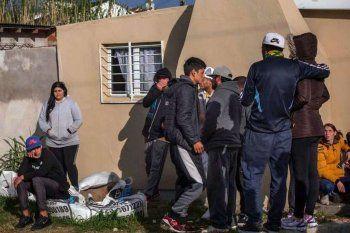 El doble homicidio ocurrió ayer en el Barrio Lourdes de Mar del Plata