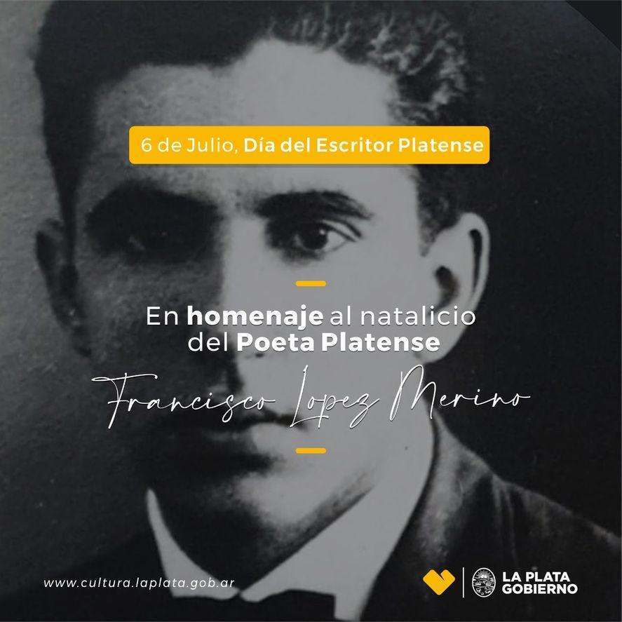 El escritor nació en La Plata 6 de julio de 1904