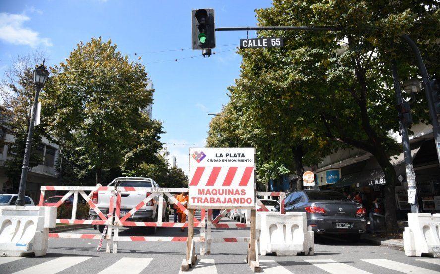 Por acá sí, por acá no: conocé los cortes de tránsito programados en La Plata