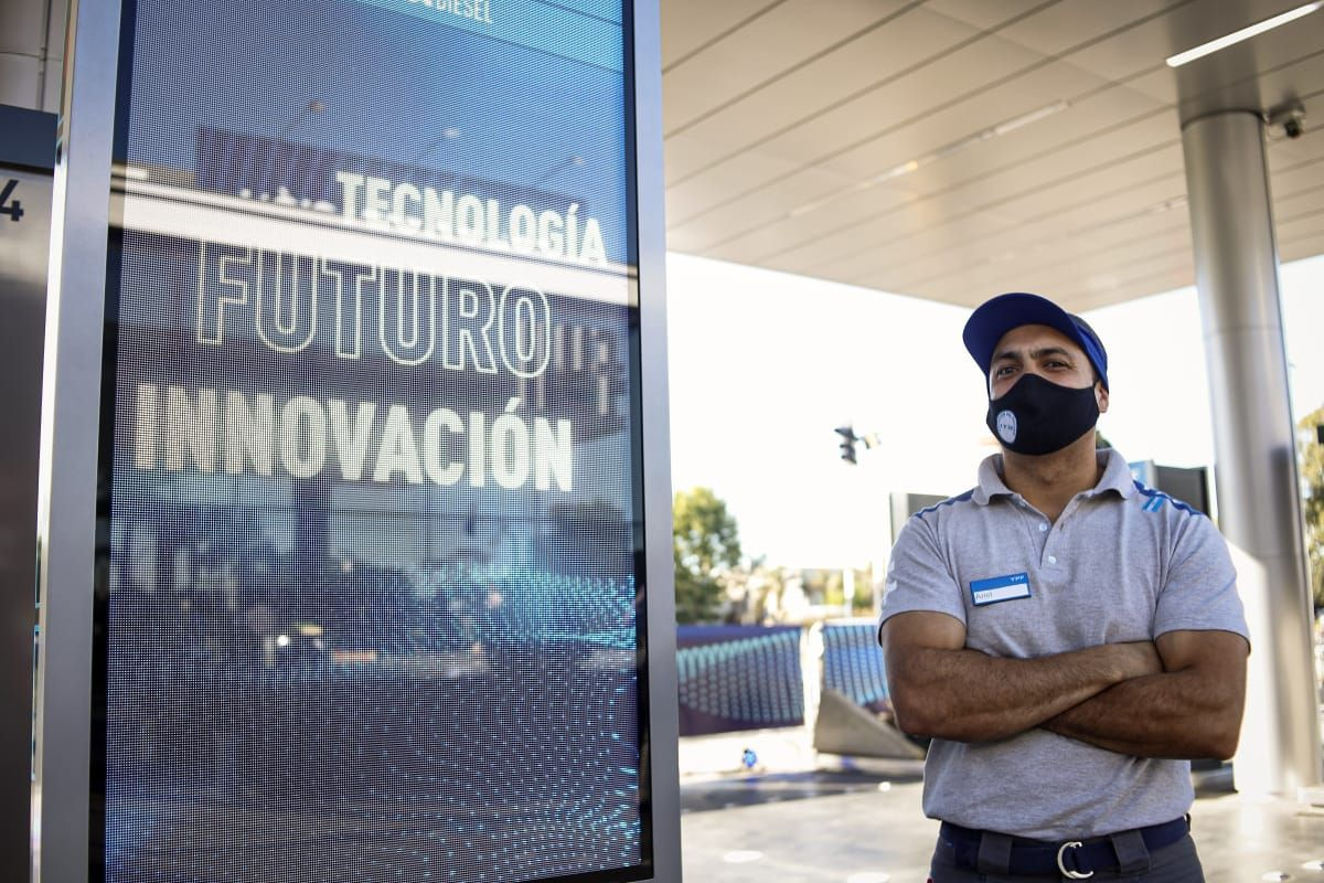 Llegó la primera estación del futuro a La Plata