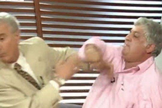 samid vs viale segundo round: el empresario ataco al periodista en las redes