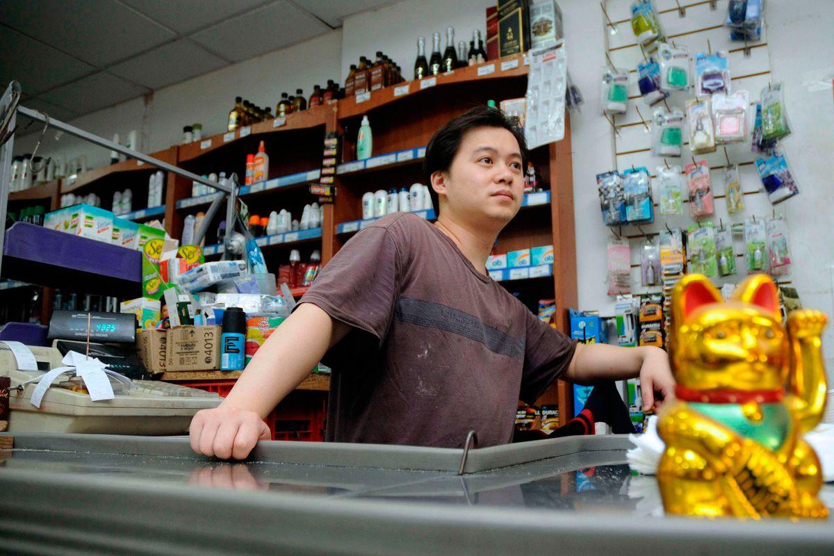 los supermercados chinos piden ser considerados por el gobierno