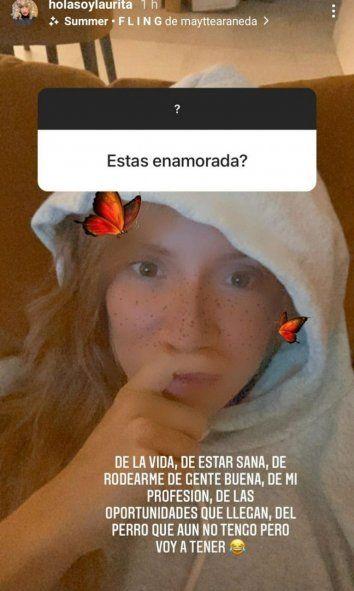 Laurita Fernández se abrió y respondió las preguntas más polémicas.