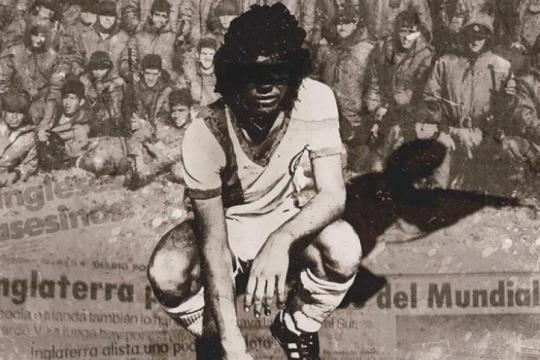 cambiar la pelota por un arma: la clase 62, el documental de los futbolistas que malvinas se llevo