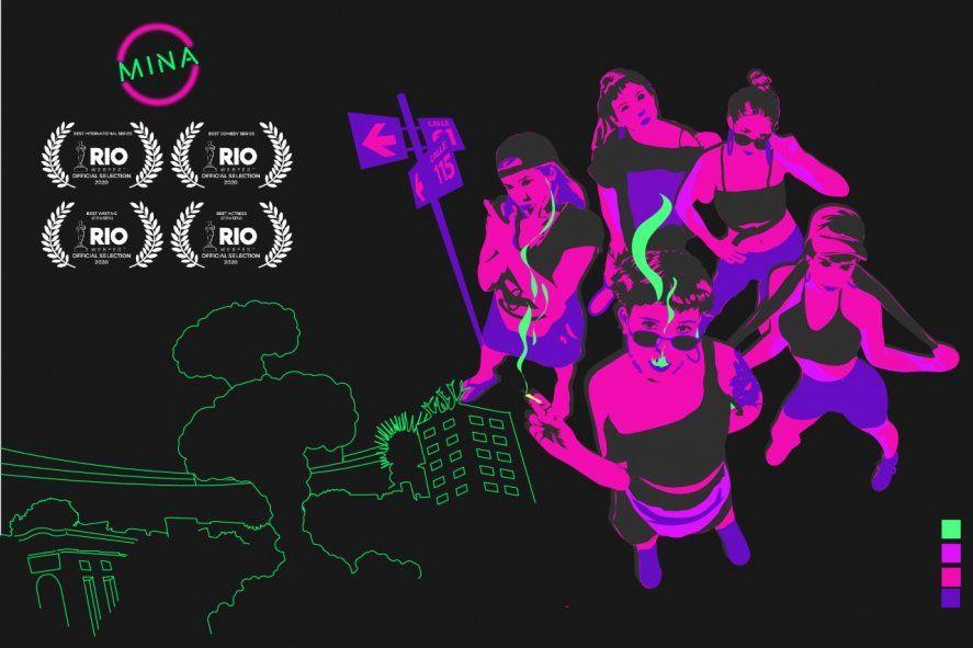 Mina, la serie feminista platense que logró 4 nominaciones en el festival de Rio