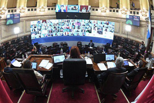 En una nueva sesión extraordinaria, el Senado debate los fondos de Coparticipación que Alberto Fernández trasladó a la Provincia.