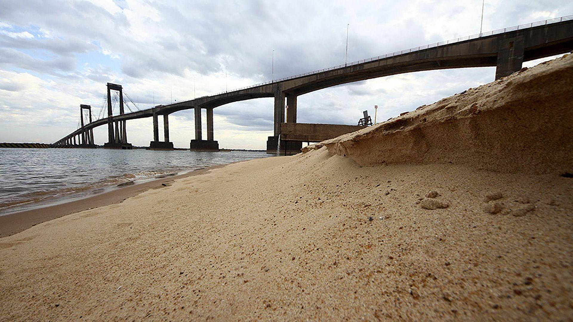 Sequía en el Rio Paraná
