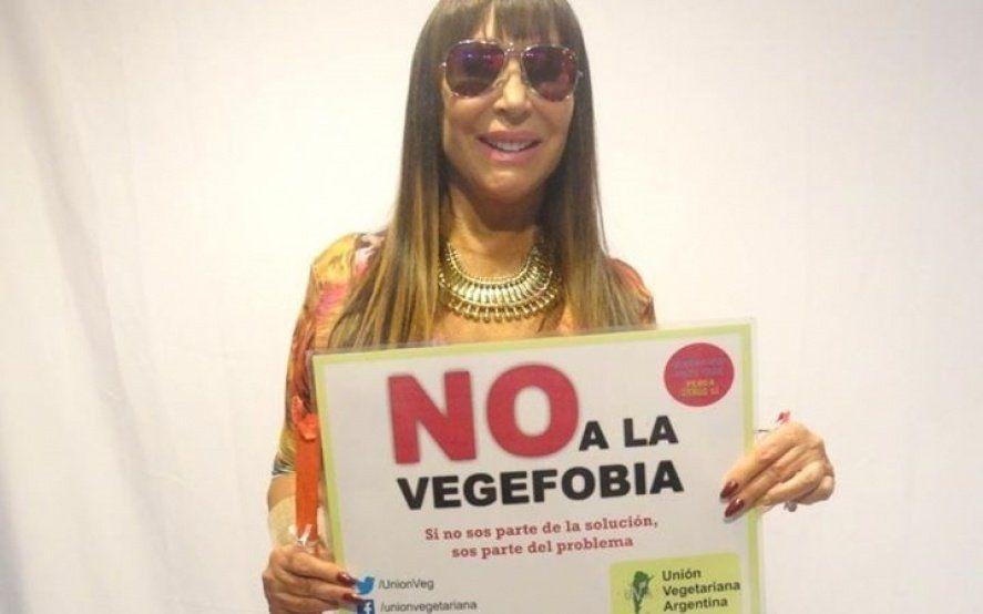 Moria Casán, Adrián Suar y más famosos se suman a la campaña contra la discriminación a los veganos