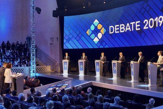 a una semana de la eleccion: que temas tocara el nuevo debate presidencial de este domingo