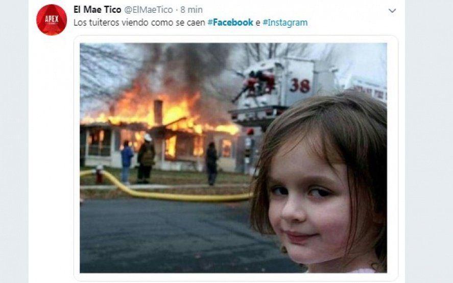 Instagram, Facebook y Whatsapp dejaron de funcionar y las redes se colmaron de memes