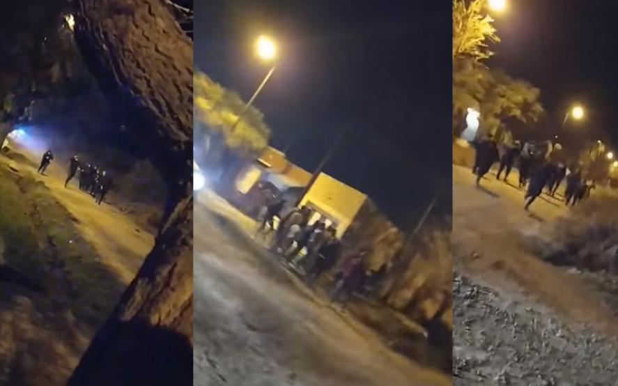 De fiesta en Chivilcoy: rompieron la cuarentena y atacaron a la policía con palas, piedras y facas