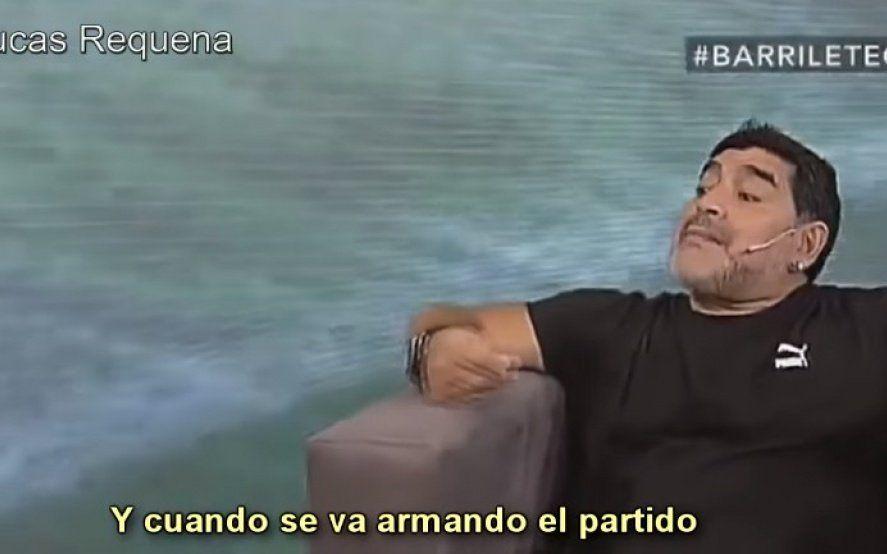 ¡El blues de Diego! El desopilante tema de Maradona contando el gol a los ingleses